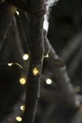 Valolanka Ulkokäyttöön, Hopea 20 LED, 200cm