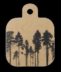 Nordic Tarjoilu-/leikkulauta 25x32cm, Metsä