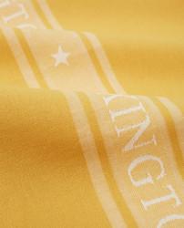 Keittiöpyyhe Star, Keltainen-Valkoinen