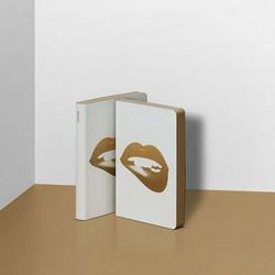 Nuuna Muistikirja Graphic S - Glossy Lips