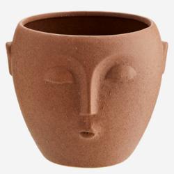 Ruukku, Face Terracotta - 14 cm