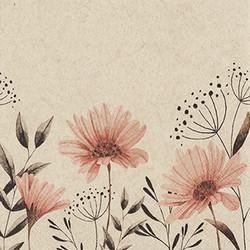 Servetti Delicate Flowers 33x33cm