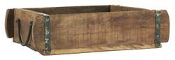 Kierrätyspuinen Laatikko, 25x30 cm