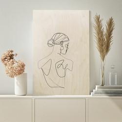 Plywood Print - Dancer 30x40