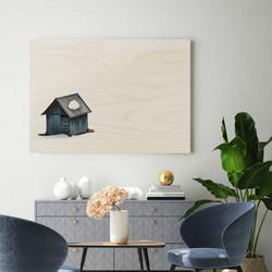 Plywood Print - Solitude 30x40