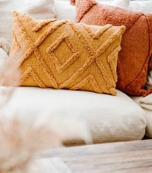 Tyyny Poltettu Oranssi Boho