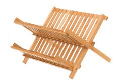 Astiankuivausteline Bambu, Kokoontaittuva