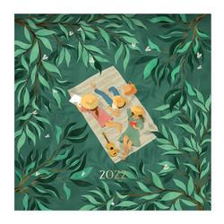 Seinäkalenteri - Polka Paper 2022