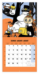 Pieni Seinäkalenteri - Muumi 2022