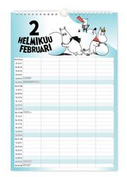 Perhekalenteri - Muumi 2022