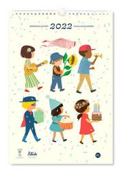 Perhekalenteri - Polka Paper 2022