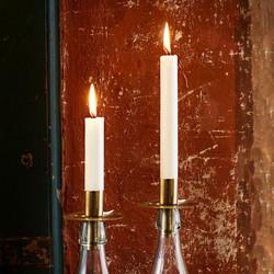 Kynttilänpidike Pulloon, Messinki