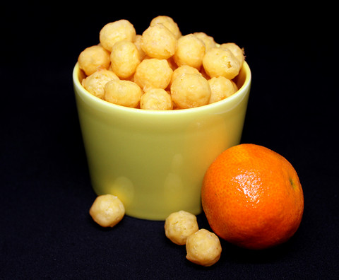 Appelsiini maissipallot
