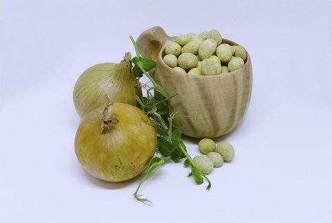 Hapankerma-sipuli Maapähkinät