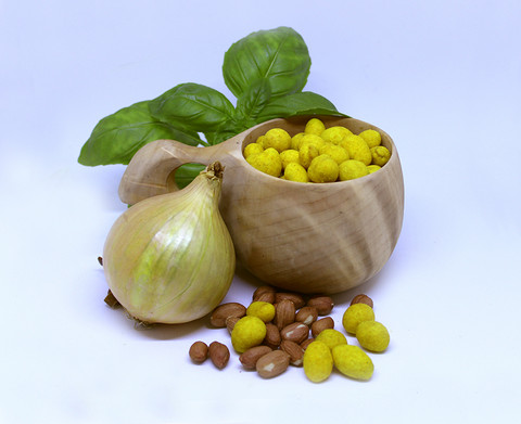 Sipulipäällysteiset Maapähkinät