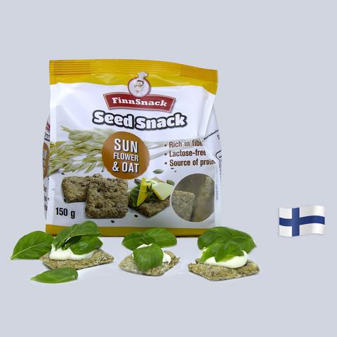 SeedSnack Auringonkukka & Kaura
