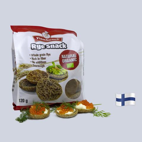 Ruis Snack Natural Organic