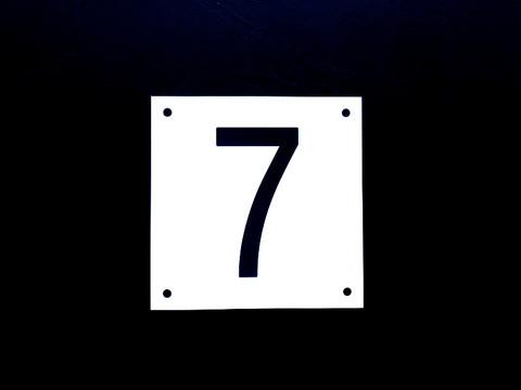 Numerokyltti yksi numero
