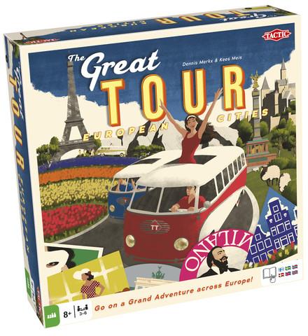 Great Tour - European Cities peli