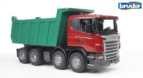 Scania rekka kippilavalla