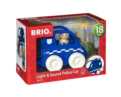 Brio Poliisiauto ääni- ja valotehosteilla