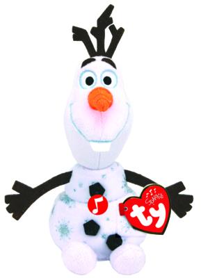 Frozen Olaf Pehmolumiukko