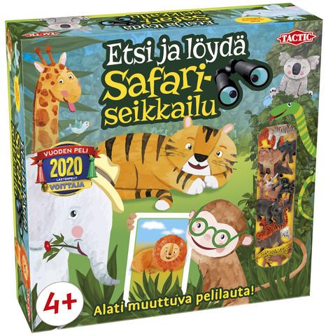 Etsi ja löydä! Safariseikkailu