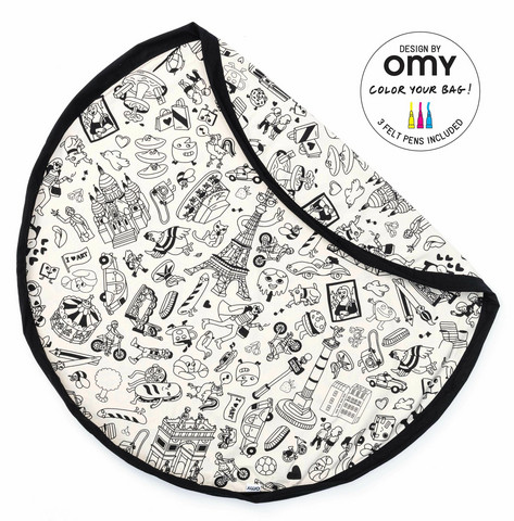 Play & Go lelupussi Color My bag OMY PARIS