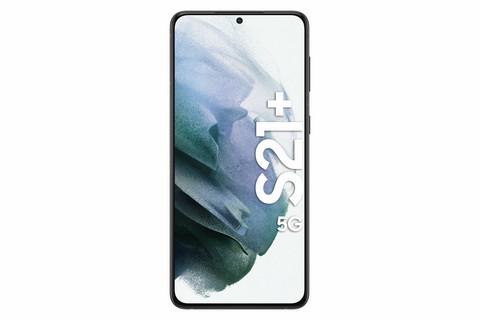 SAMSUNG S21+ 5G DUAL-SIM PHANTOM BLACK 128 GB