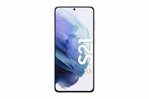 SAMSUNG S21 5G DUAL-SIM PHANTOM WHITE 256 GB