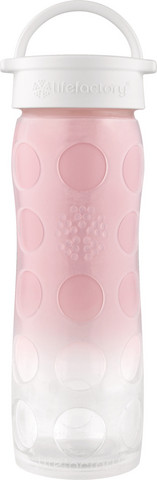 Lifefactory 475 ml pink Ombre lasipullo