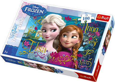 Trefl 100P Frozen, 100p palapeli