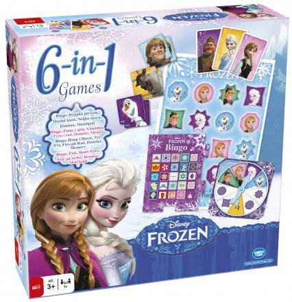 Disney Frozen 6 in 1 pelit