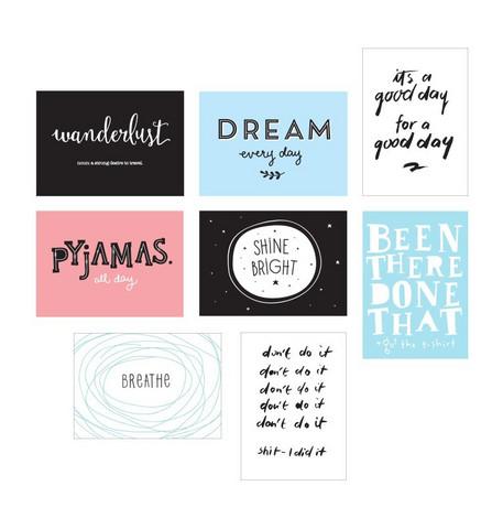Poster lightbox sheets: Fun