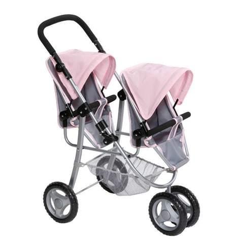 Baby Born kaksosten juoksurattaat