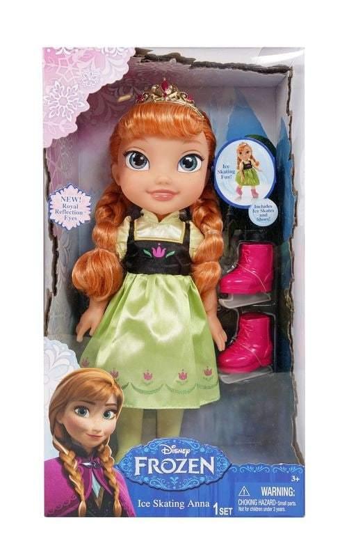Disney Frozen Anna luistelunukke