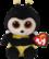 TY Beanie Boos Buzby - mehiläinen