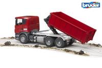 Scania rekka lavanvaihtosysteemillä
