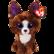 TY dexter chihuahua koira 23 cm