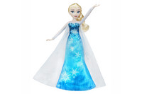 FROZEN PLAY-A-MELODY GOWN ELSA nukke