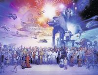 star wars universe palapeli 2000p