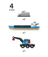 Rahtilaiva ja nosturi