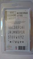 Lightboxin lisäkirjainsetti: 85 käsin kirjoitettua kirjainta