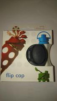 Flip top cap harmaa