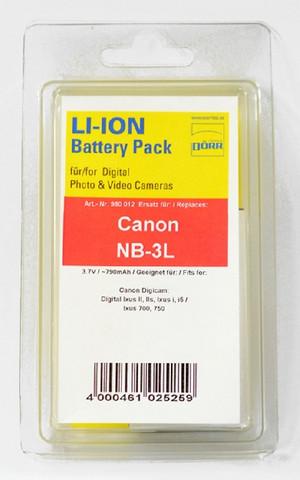 Dörr Canon NB-3L