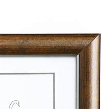 15x20 Valokuvakehys, tummanruskea