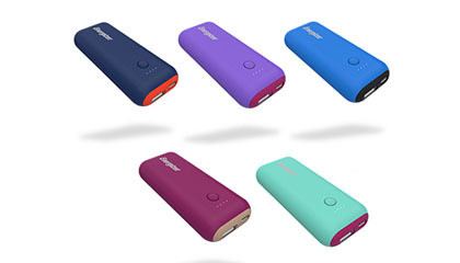 Energizer Power Bank 5000mAh, violetti