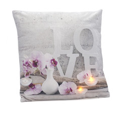 Love LED-tyyny 45x45cm