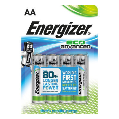 Energizer AA eco advanced 4kpl