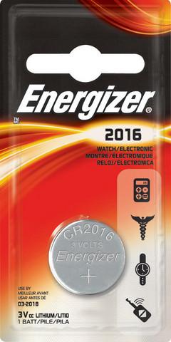 Energizer CR2016 1kpl/paketti